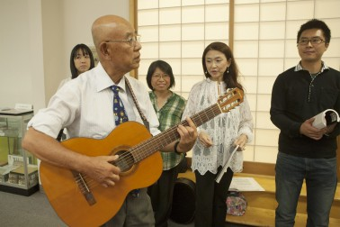 Frank Fukuda with the Sound Singers