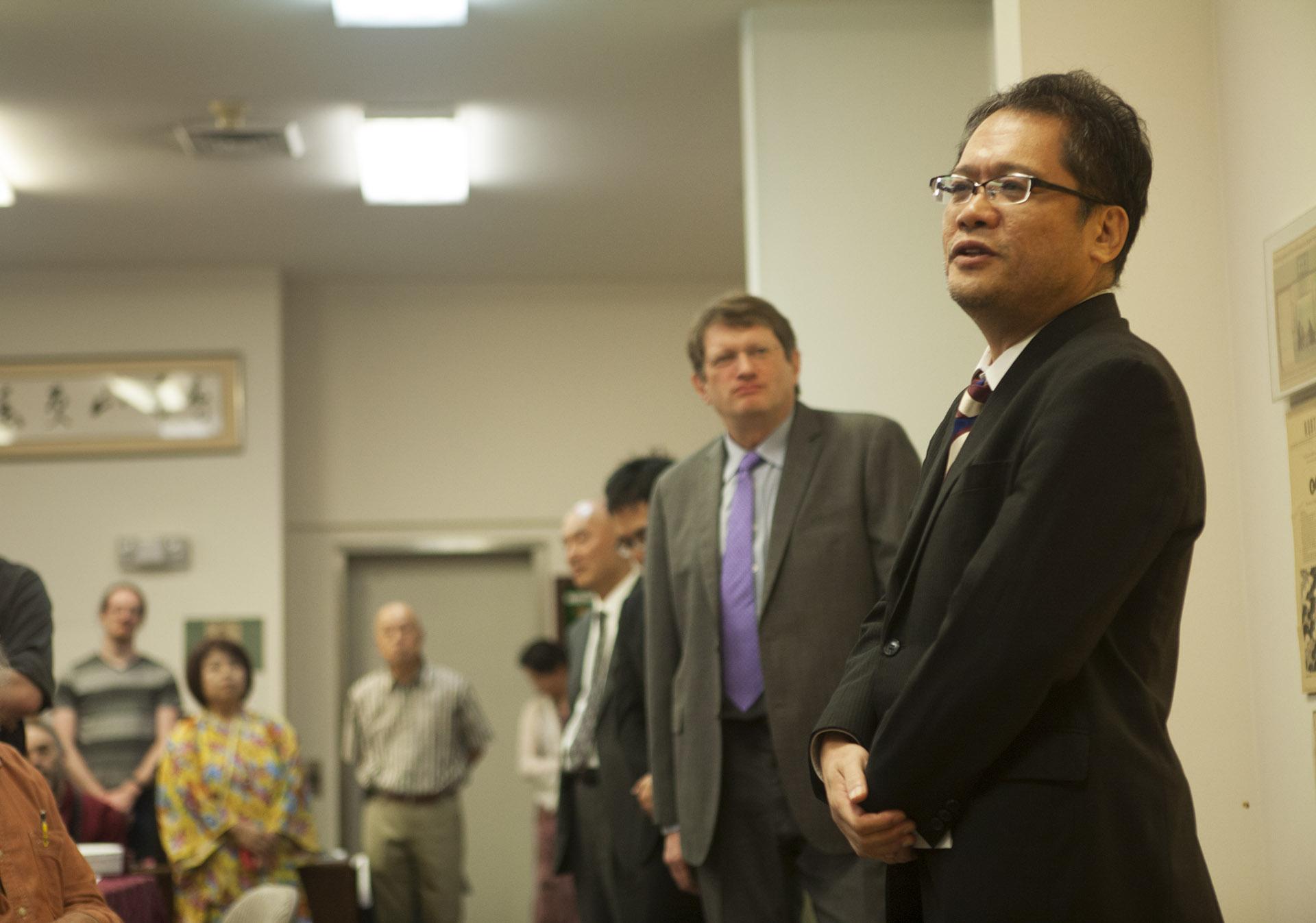 Mr. Hiroshi Yamashiro 9P from the Nihon Ki-in
