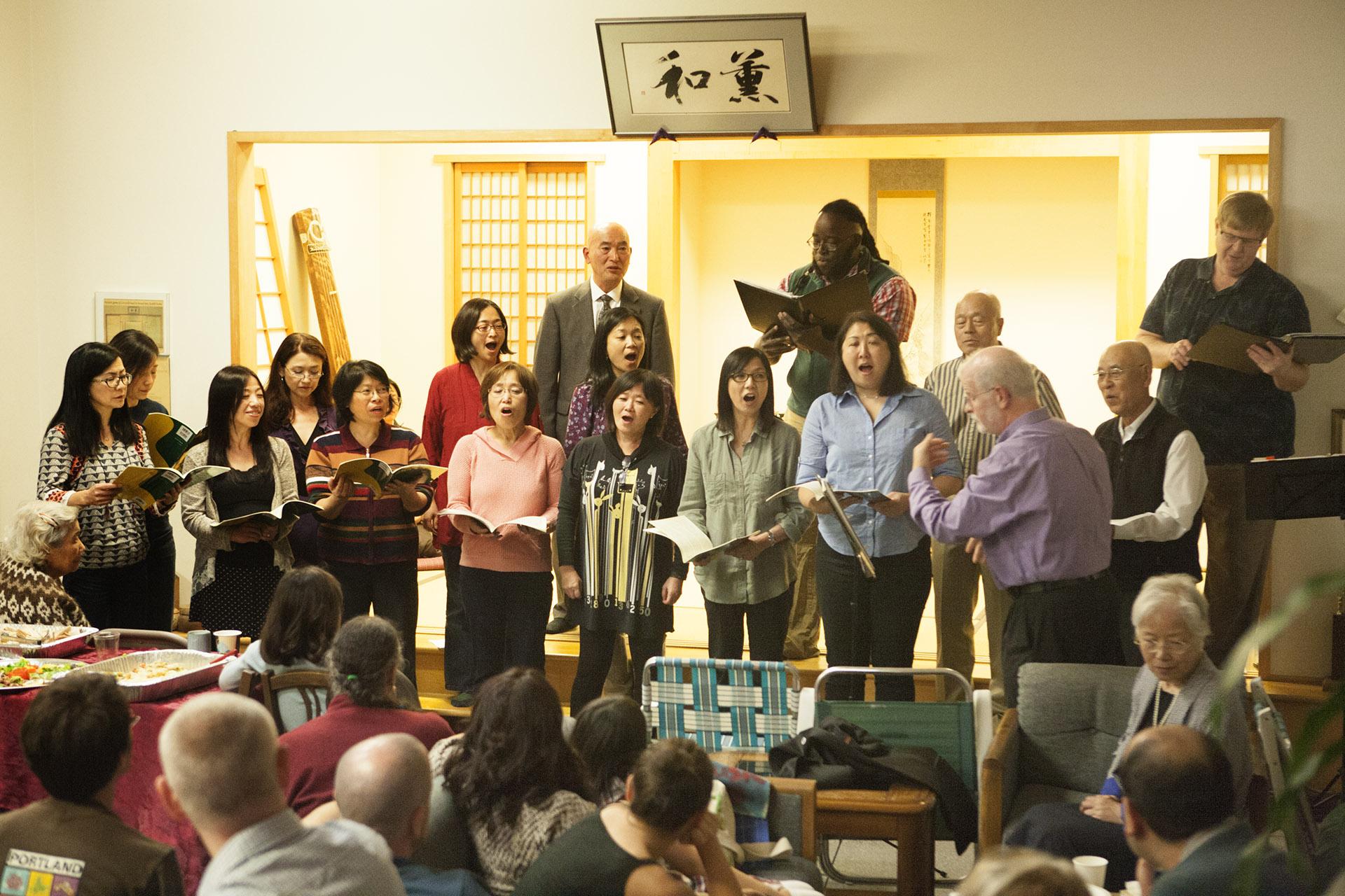 Sound Singers at Go Center Anniversary