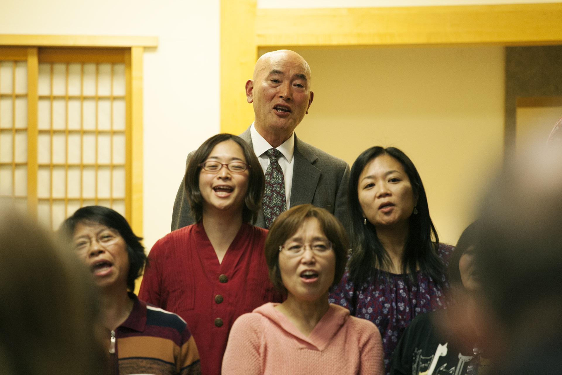 Hikojiro Katsuhisa with the Sound Singers