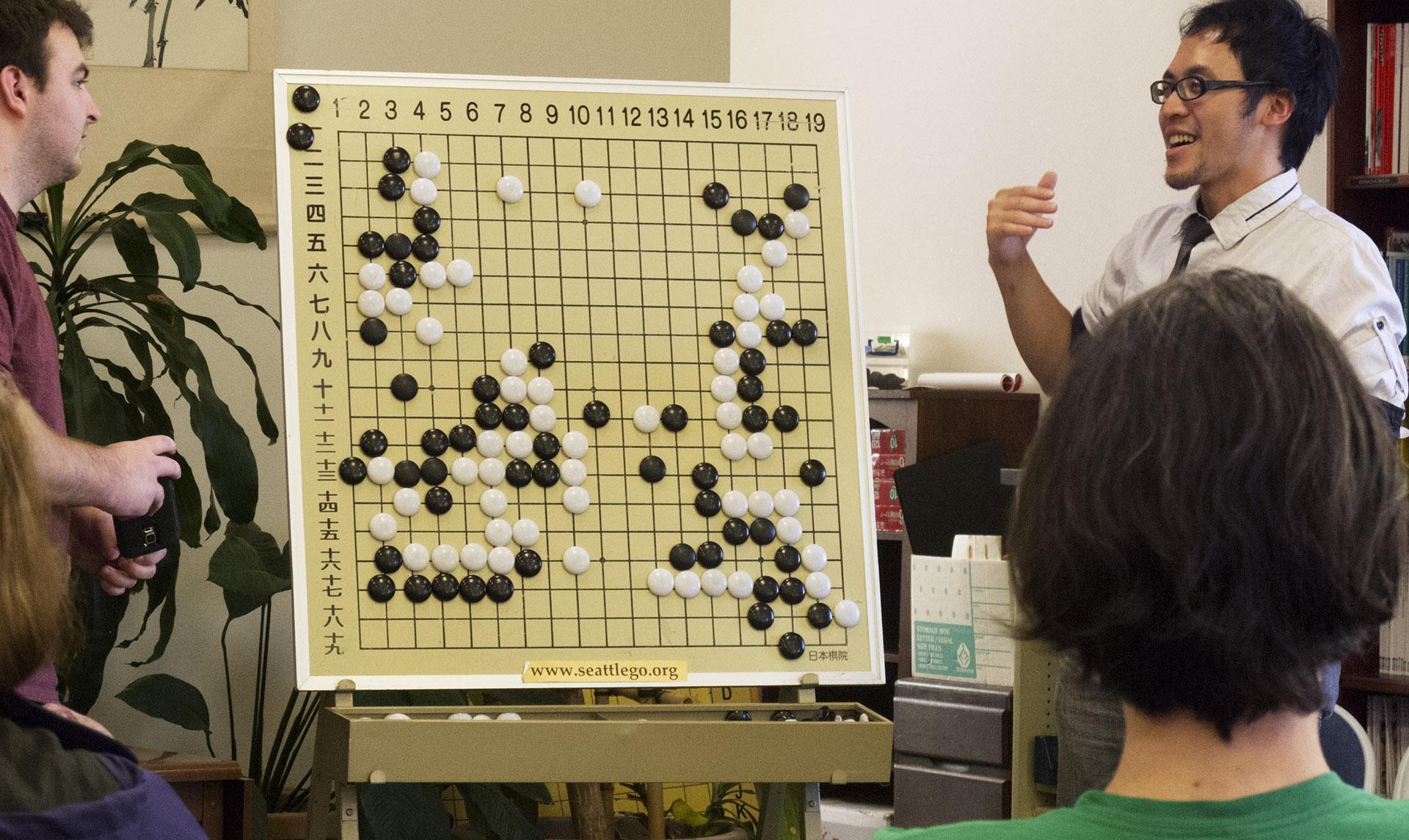 Kuma Sensei teaching