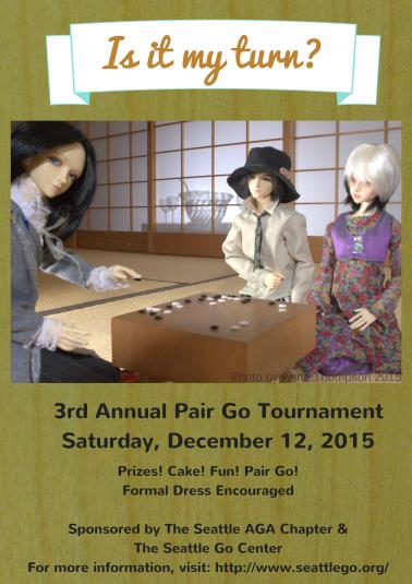 3rd Annual Pair Go Tournament final