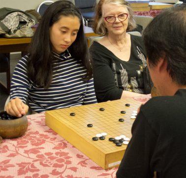 Teaching game with professional Maeda Ryo