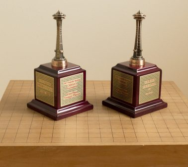Children's Trophies with four languages